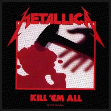 Metallica Kill Em All Patch