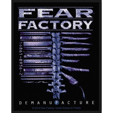 Fear Factory Demanufacture Patch