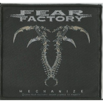 Fear Factory Mechanize Patch