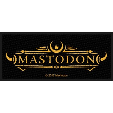 Mastodon Logo Patch
