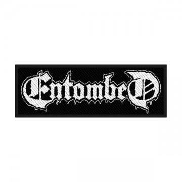 Entombed Logo Patch