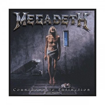 Megadeth Countdown To Extinction Patch