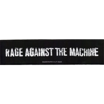 Rage Against The Machine Logo Superstrip Patch