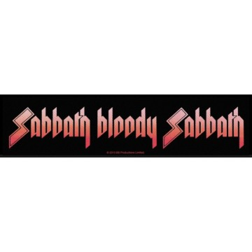 Black Sabbath Sabbath Bloody Sabbath Superstrip Patch