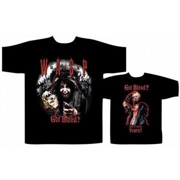 Wasp (W.A.S.P.) Got Blood? T-Shirt