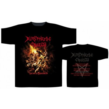 Blasphemic Cruelty Devil'S Mayhem T-Shirt.