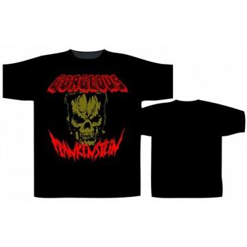 Gorgeous Frankenstein Biz Skull T-Shirt