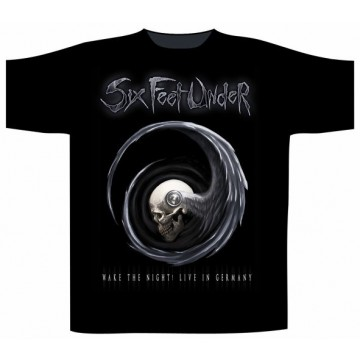 Six Feet Under Wake The Night T-Shirt