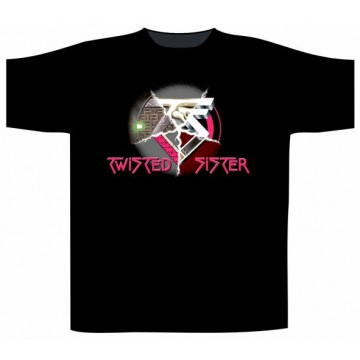Twisted Sister Morphed Logo T-Shirt