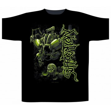 Suffocation Effigy Side Print Logo T-Shirt