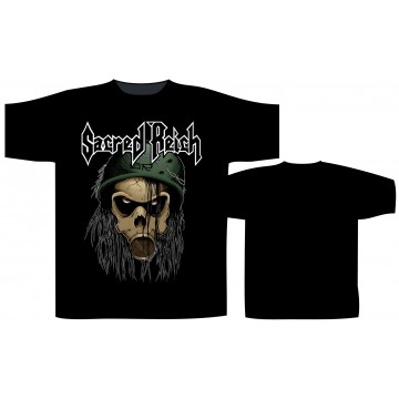 Sacred Reich Gas Mask T-Shirt