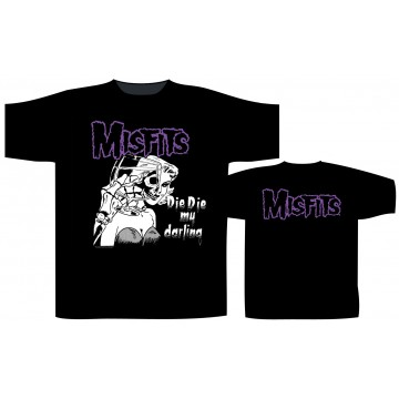Misfits, The Die Die My Darling T-Shirt.