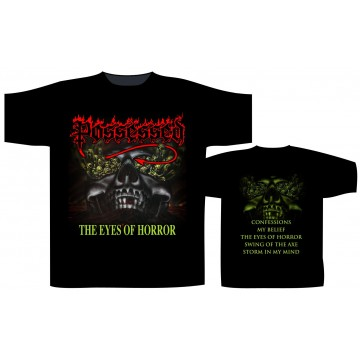 Possessed The Eyes Of Horror T-Shirt