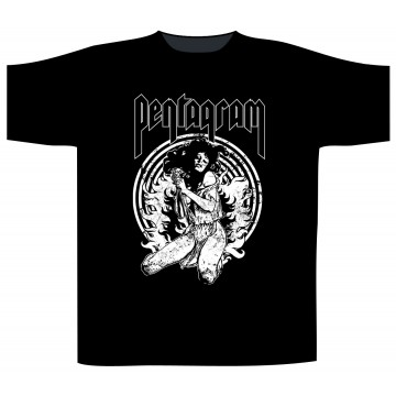 Pentagram Virgin Witch T-Shirt