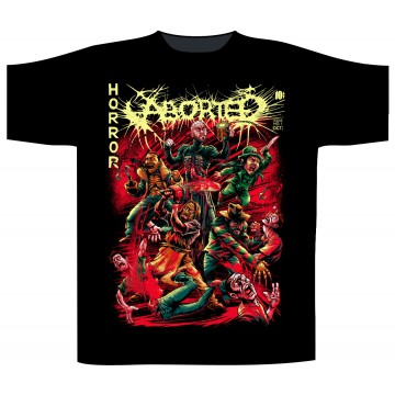Aborted Horror Comic T-Shirt
