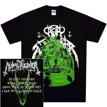 Nunslaughter Green Witch T-Shirt