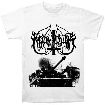 Marduk Panzer / White T-Shirt