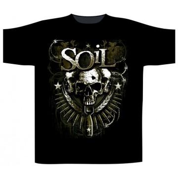 Soil Military Skull T-Shirt