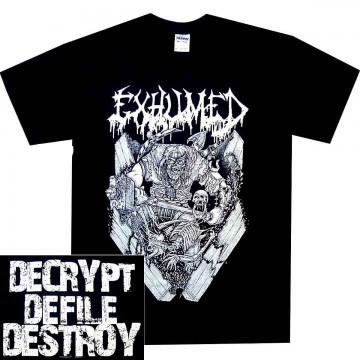 Exhumed Casket Krusher T-Shirt