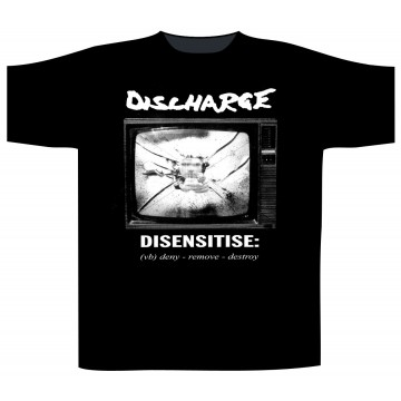 Discharge Disensitise T-Shirt