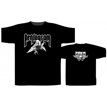 Pentagram Reaper (Cream Print) T-Shirt
