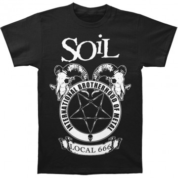Soil Brotherhood Of Metal T-Shirt