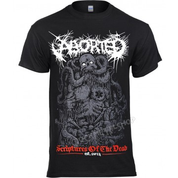 Aborted Scriptures Of The Dead T-Shirt