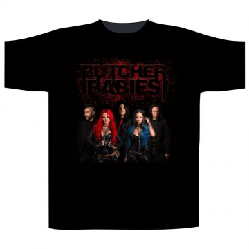 Butcher Babies Band Shot T-Shirt