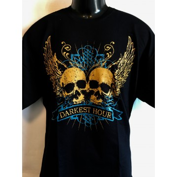Darkest Hour Double Skull T-Shirt