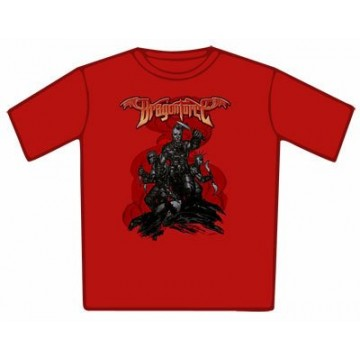 Dragonforce Battle Red T-Shirt