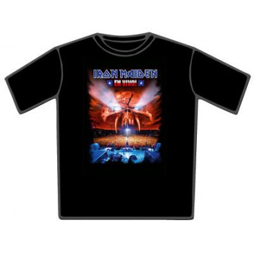 Iron Maiden En Vivo T-Shirt.