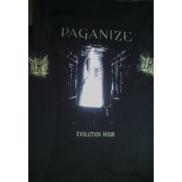 Paganize Evolution Hour Long Sleeve Shirt