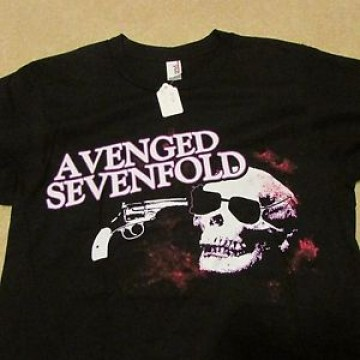 Avenged Sevenfold Skull Gun T-Shirt