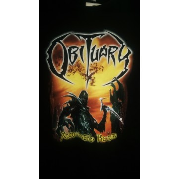 Obituary Xecutioners Return Skinny T-Shirt