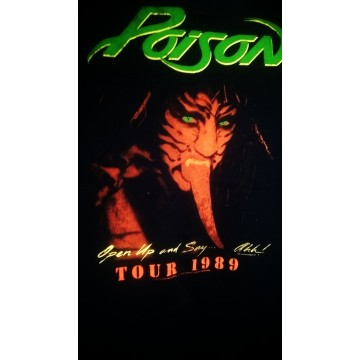 Poison Tour 1989 Skinny T-Shirt