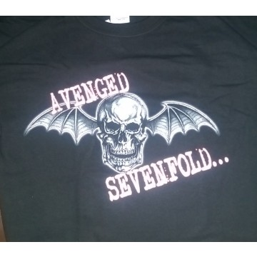 Avenged Sevenfold Skull Wings T-Shirt