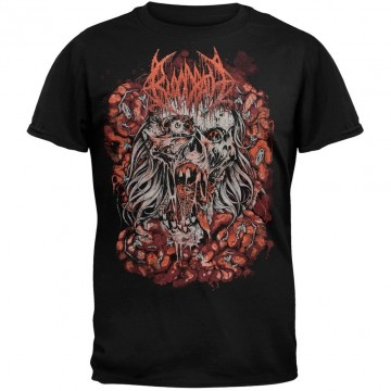 Bloodbath Wretched Human Mirror T-Shirt