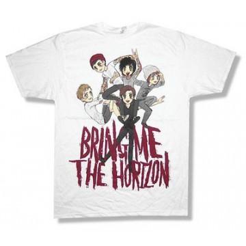 Bring Me The Horizon Sketch Pile T-Shirt