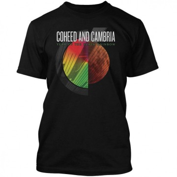 Coheed & Cambria Black Rainbow T-Shirt