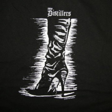 Distillers Boot T-Shirt