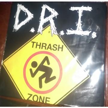 Dri Thrash Zone Sign T-Shirt