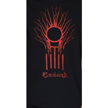 Enslaved Riitiir Lyrics T-Shirt