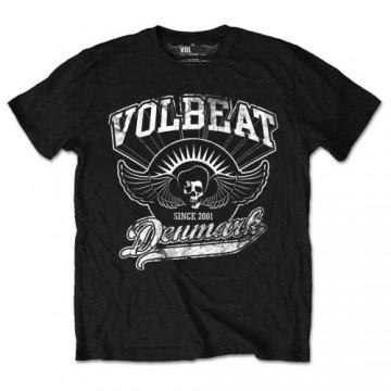 Volbeat Rise From Denmark Mens Black T-Shirt