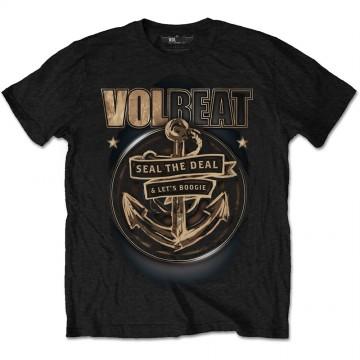 Volbeat Anchor Mens Black T-Shirt