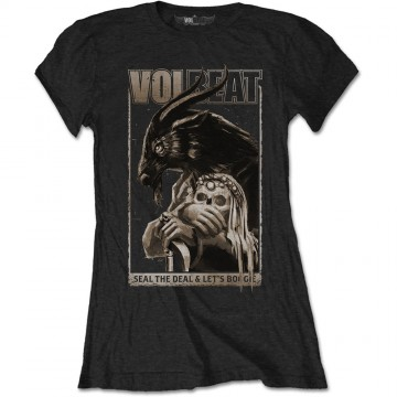 Volbeat Boogie Goat Ladies Black T-Shirt
