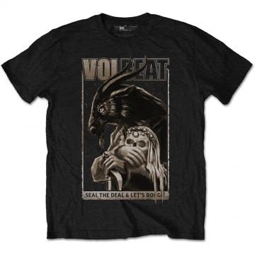 Volbeat Boogie Goat Mens Black T-Shirt