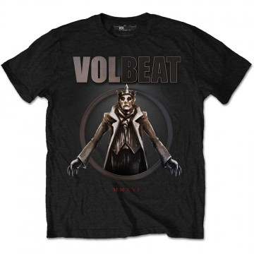 Volbeat King of the Beast Mens Black T-Shirt