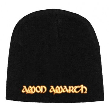 Amon Amarth Gold Logo Beanie Hat