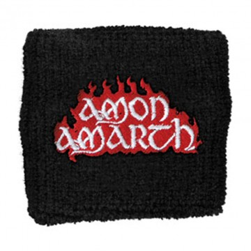 Amon Amarth Red Flame Logo Wristband