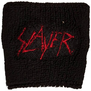 Slayer Scratched Logo Wristband